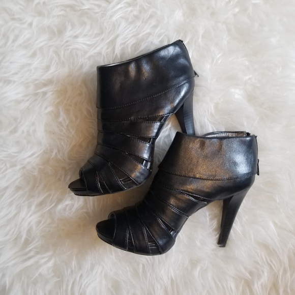 Mossimo Supply Co. Shoes - Open toe bootie heels